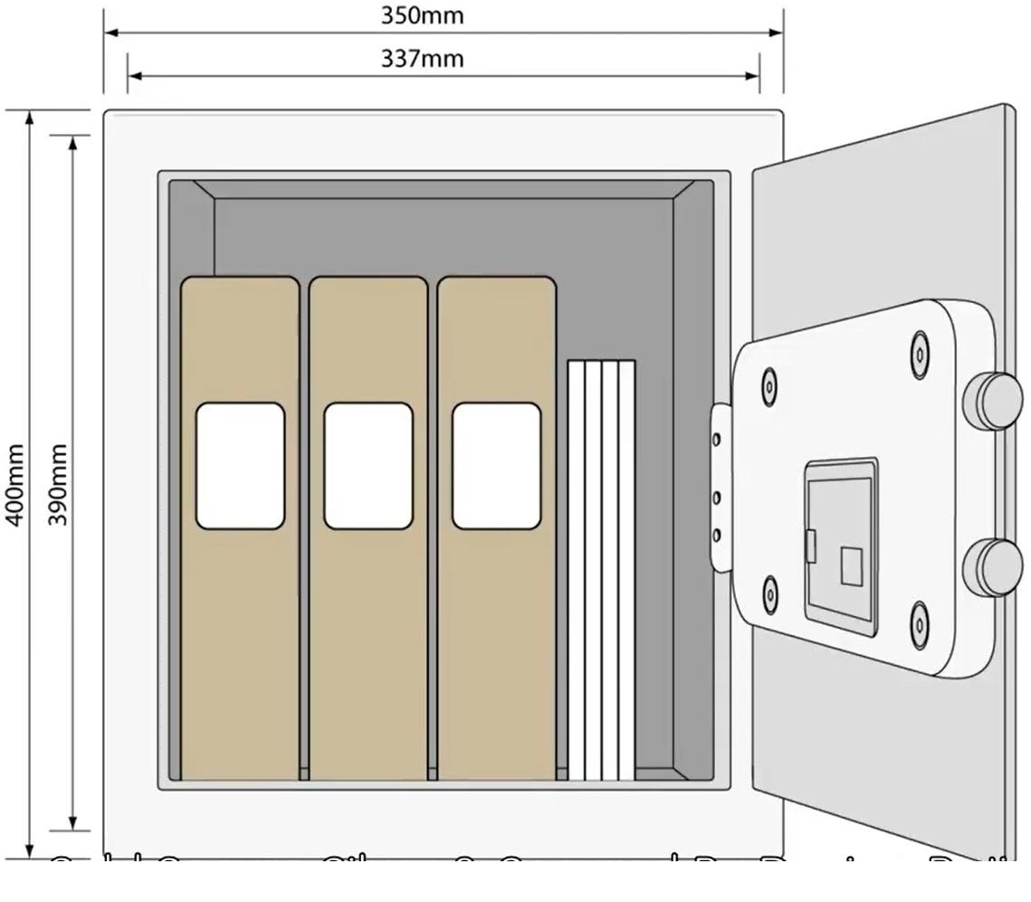 yale-ysm-400-eg1-coffre-fort-electronique-dimensions-et-interieur