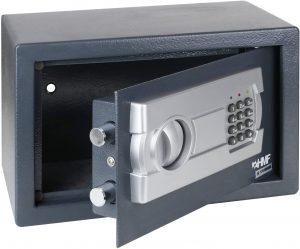 Coffre-fort électronique HMF 4612112 noir