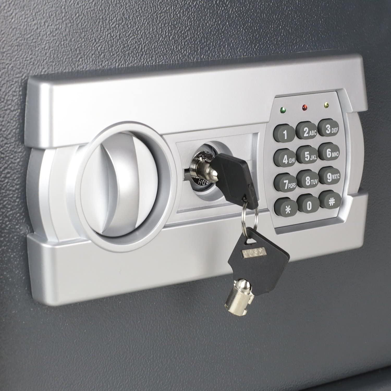 coffre-fort-electronique hmf 4612112 clé d'urgence