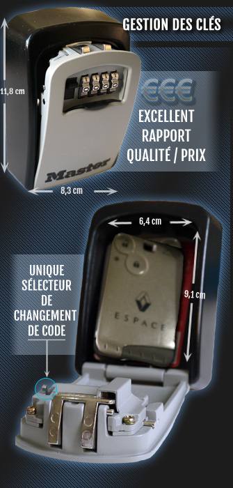 ouverture boite a cle master lock
