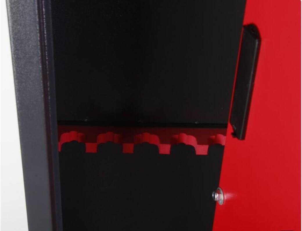 armoire coffre fort TCH technosafe râtelier mousse fusils
